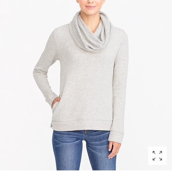 J.Crew Mercantile Womens Funnelneck Sweatshirt Sweatshirt